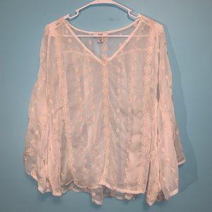 barr III Sheer shirt S/M